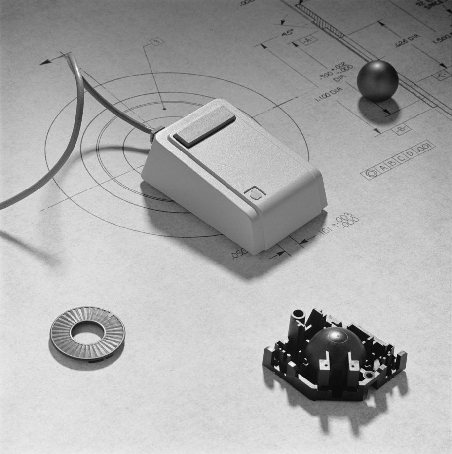 IDEO design for the first Apple mouse (image courtesy IDEO)