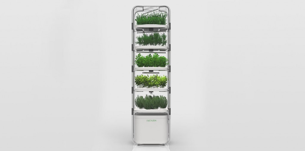 Urban Farming: IDEO & INFARM